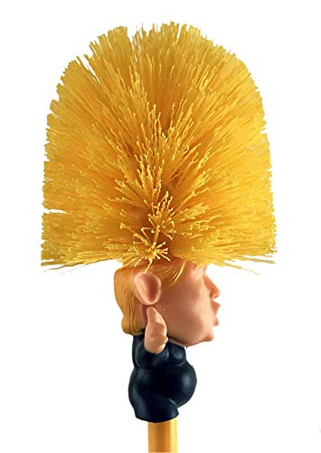 Donald Trump Toilet Brush Make Toilet Great Again I'm thrilled to have the trump toilet brush.it belongs in the smithsonian museum!!!!thank you. donald trump toilet brush