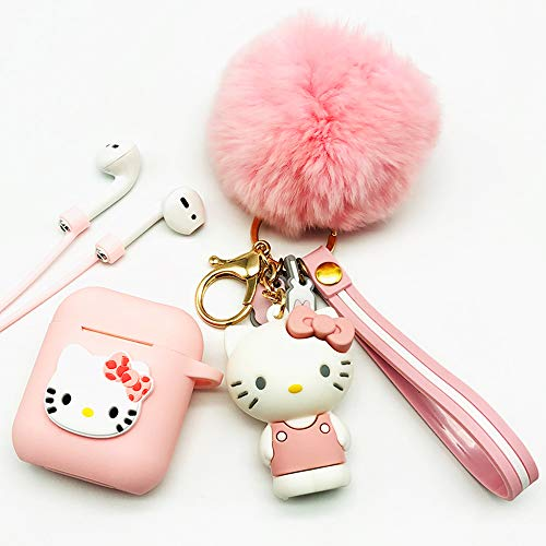 Hello Kitty Beautiful Airpods Case With Pet Doll Fun Cool Gadgets